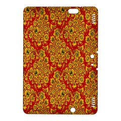 Flower Rose Red Yellow Sexy Kindle Fire Hdx 8 9  Hardshell Case by AnjaniArt