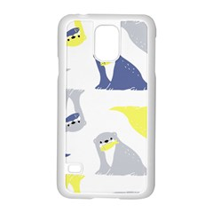 Seals Sea Lions Animals Fish Samsung Galaxy S5 Case (white) by AnjaniArt