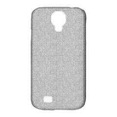 Line Black White Camuflage Polka Dots Samsung Galaxy S4 Classic Hardshell Case (pc+silicone) by AnjaniArt