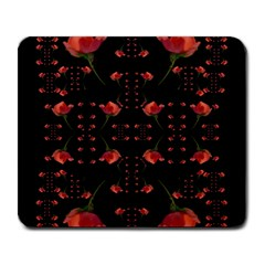 Roses From The Fantasy Garden Large Mousepads by pepitasart