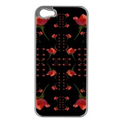 Roses From The Fantasy Garden Apple Iphone 5 Case (silver) by pepitasart