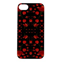 Pumkins And Roses From The Fantasy Garden Apple Iphone 5s/ Se Hardshell Case by pepitasart