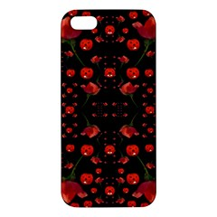 Pumkins And Roses From The Fantasy Garden Iphone 5s/ Se Premium Hardshell Case by pepitasart
