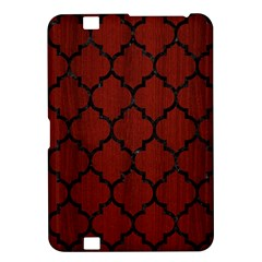 Tile1 Black Marble & Reddish Brown Wood Kindle Fire Hd 8 9  by trendistuff