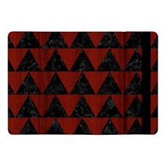 Triangle2 Black Marble & Reddish Brown Wood Apple Ipad Pro 10 5   Flip Case by trendistuff