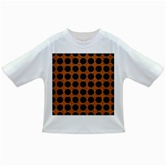 Circles1 Black Marble & Rusted Metal Infant/toddler T Shirts by trendistuff