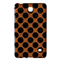 Circles2 Black Marble & Rusted Metal Samsung Galaxy Tab 4 (7 ) Hardshell Case  by trendistuff