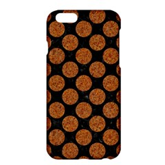 Circles2 Black Marble & Rusted Metal (r) Apple Iphone 6 Plus/6s Plus Hardshell Case by trendistuff