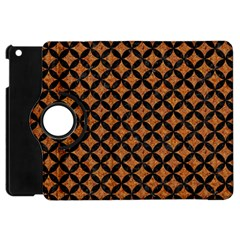 Circles3 Black Marble & Rusted Metal Apple Ipad Mini Flip 360 Case by trendistuff