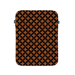 Circles3 Black Marble & Rusted Metal Apple Ipad 2/3/4 Protective Soft Cases by trendistuff