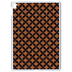 Circles3 Black Marble & Rusted Metal Apple Ipad Pro 9 7   White Seamless Case by trendistuff