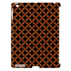 Circles3 Black Marble & Rusted Metal (r) Apple Ipad 3/4 Hardshell Case (compatible With Smart Cover) by trendistuff