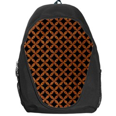 Circles3 Black Marble & Rusted Metal (r) Backpack Bag by trendistuff