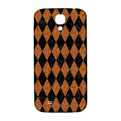 Diamond1 Black Marble & Rusted Metal Samsung Galaxy S4 I9500/i9505  Hardshell Back Case by trendistuff