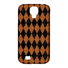 Diamond1 Black Marble & Rusted Metal Samsung Galaxy S4 Classic Hardshell Case (pc+silicone) by trendistuff