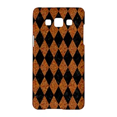 Diamond1 Black Marble & Rusted Metal Samsung Galaxy A5 Hardshell Case  by trendistuff