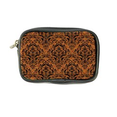 Damask1 Black Marble & Rusted Metal Coin Purse by trendistuff