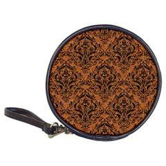 Damask1 Black Marble & Rusted Metal Classic 20 Cd Wallets by trendistuff