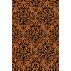 Damask1 Black Marble & Rusted Metal 5 5  X 8 5  Notebooks by trendistuff