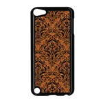 DAMASK1 BLACK MARBLE & RUSTED METAL Apple iPod Touch 5 Case (Black)