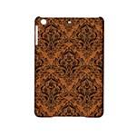 DAMASK1 BLACK MARBLE & RUSTED METAL iPad Mini 2 Hardshell Cases