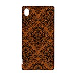 DAMASK1 BLACK MARBLE & RUSTED METAL Sony Xperia Z3+
