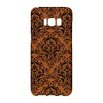 DAMASK1 BLACK MARBLE & RUSTED METAL Samsung Galaxy S8 Hardshell Case