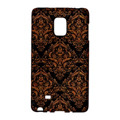 Damask1 Black Marble & Rusted Metal (r) Galaxy Note Edge by trendistuff