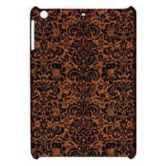 Damask2 Black Marble & Rusted Metal Apple Ipad Mini Hardshell Case by trendistuff
