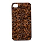 DAMASK2 BLACK MARBLE & RUSTED METAL Apple iPhone 4/4S Hardshell Case with Stand