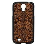 DAMASK2 BLACK MARBLE & RUSTED METAL Samsung Galaxy S4 I9500/ I9505 Case (Black)
