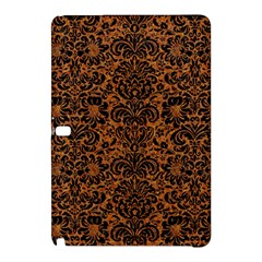 Damask2 Black Marble & Rusted Metal Samsung Galaxy Tab Pro 10 1 Hardshell Case by trendistuff
