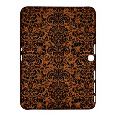 Damask2 Black Marble & Rusted Metal Samsung Galaxy Tab 4 (10 1 ) Hardshell Case  by trendistuff