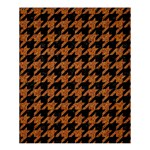HOUNDSTOOTH1 BLACK MARBLE & RUSTED METAL Shower Curtain 60  x 72  (Medium)