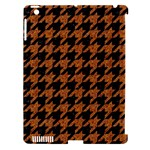 HOUNDSTOOTH1 BLACK MARBLE & RUSTED METAL Apple iPad 3/4 Hardshell Case (Compatible with Smart Cover)