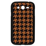 HOUNDSTOOTH1 BLACK MARBLE & RUSTED METAL Samsung Galaxy Grand DUOS I9082 Case (Black)