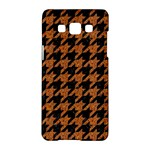 HOUNDSTOOTH1 BLACK MARBLE & RUSTED METAL Samsung Galaxy A5 Hardshell Case
