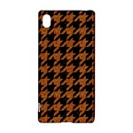 HOUNDSTOOTH1 BLACK MARBLE & RUSTED METAL Sony Xperia Z3+