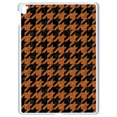 Houndstooth1 Black Marble & Rusted Metal Apple Ipad Pro 9 7   White Seamless Case by trendistuff
