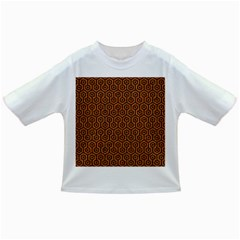 Hexagon1 Black Marble & Rusted Metal Infant/toddler T Shirts by trendistuff