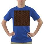 HEXAGON1 BLACK MARBLE & RUSTED METAL (R) Dark T-Shirt