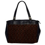 HEXAGON1 BLACK MARBLE & RUSTED METAL (R) Office Handbags