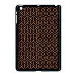 HEXAGON1 BLACK MARBLE & RUSTED METAL (R) Apple iPad Mini Case (Black)