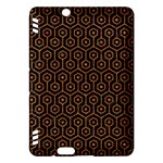 HEXAGON1 BLACK MARBLE & RUSTED METAL (R) Kindle Fire HDX Hardshell Case