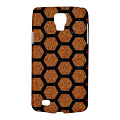 Hexagon2 Black Marble & Rusted Metal Galaxy S4 Active by trendistuff