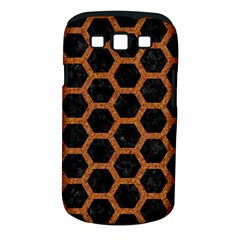 Hexagon2 Black Marble & Rusted Metal (r) Samsung Galaxy S Iii Classic Hardshell Case (pc+silicone) by trendistuff