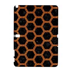 Hexagon2 Black Marble & Rusted Metal (r) Galaxy Note 1 by trendistuff