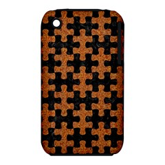 Puzzle1 Black Marble & Rusted Metal Iphone 3s/3gs by trendistuff