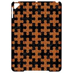 Puzzle1 Black Marble & Rusted Metal Apple Ipad Pro 9 7   Hardshell Case by trendistuff