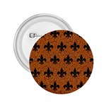 ROYAL1 BLACK MARBLE & RUSTED METAL (R) 2.25  Buttons